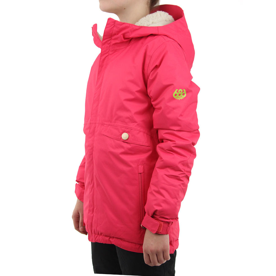 686 Wendy Insulated Girls Snow Jacket - Fuschia