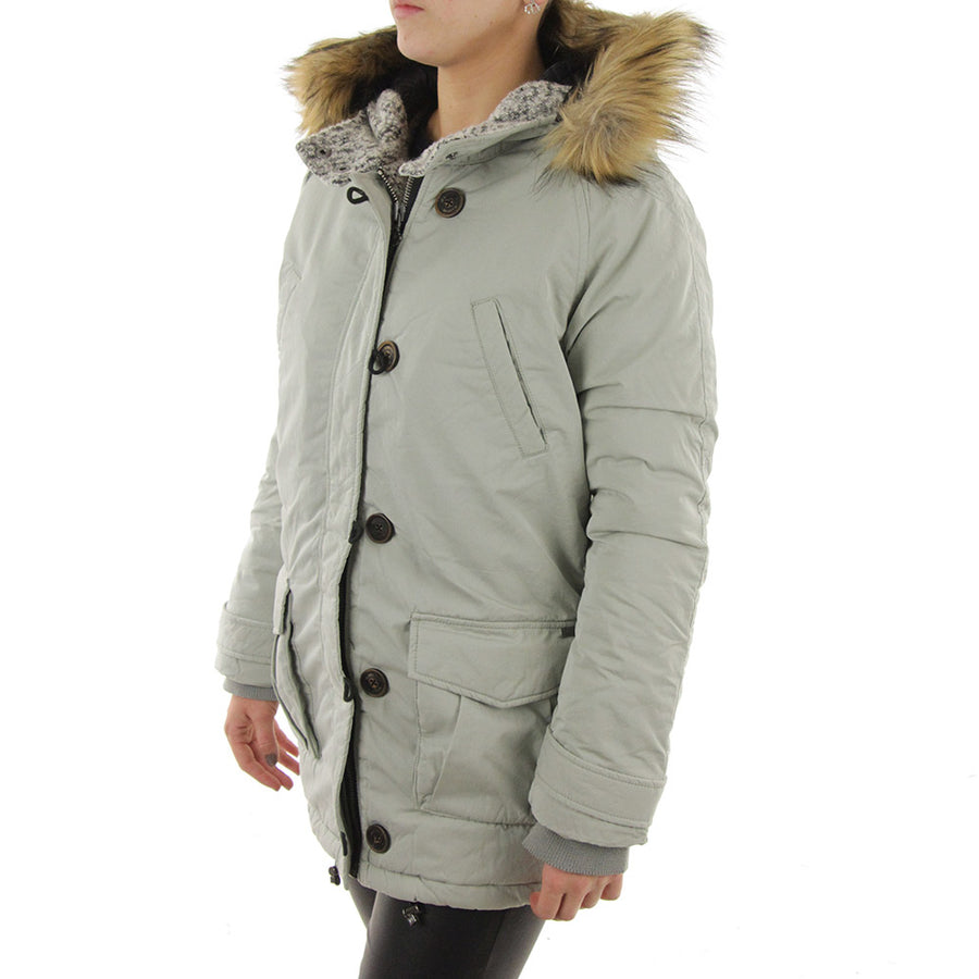 Technical Shorter Parka Women's Jacket/Antique Green