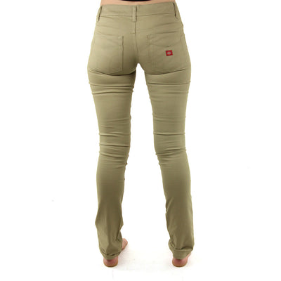 5 Pocket Classic Skinny Women's Pants/Khaki