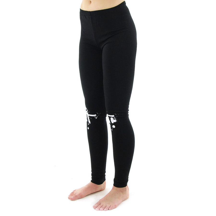Ink Dot Women's Leggings/Black