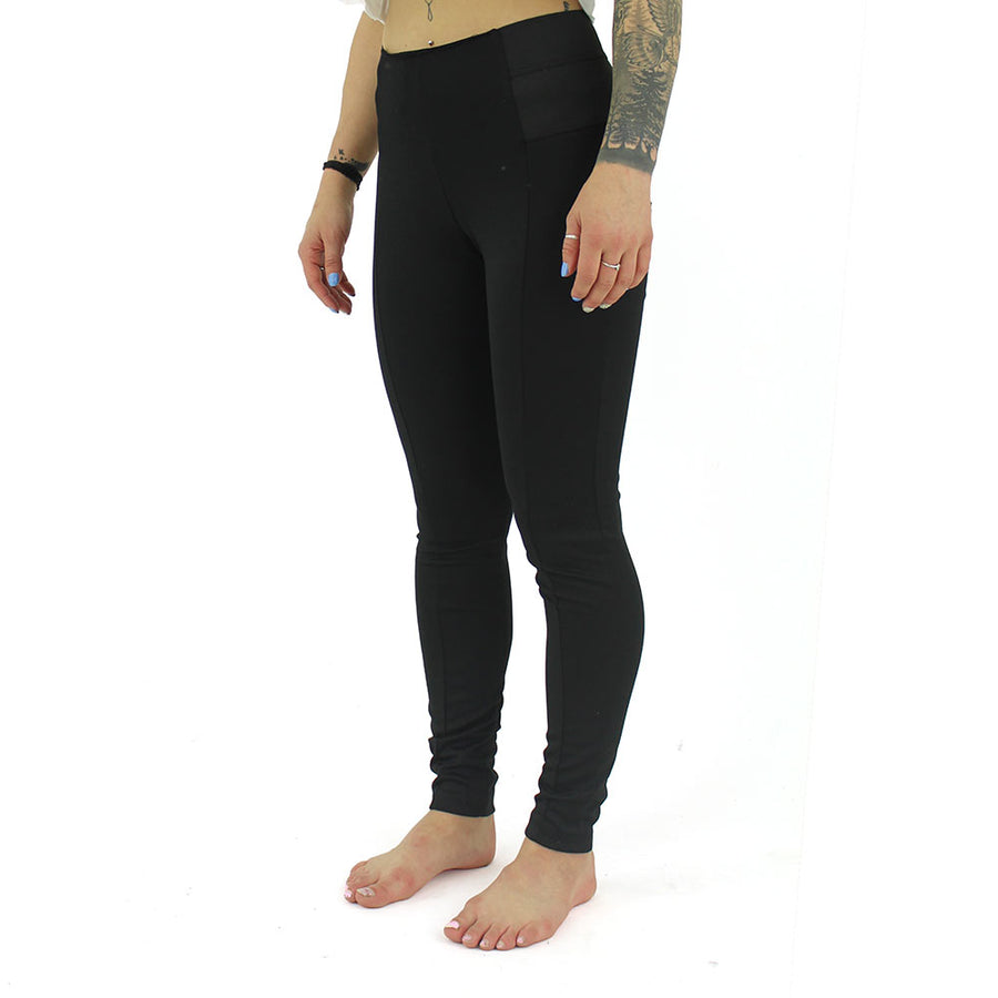 High Waisted Legging Women's Pants/Black