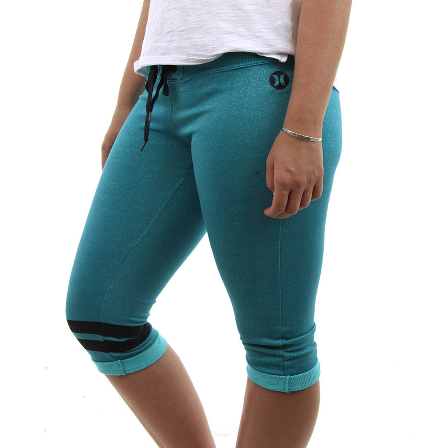 Dri - Fit Crop Women's Pants/Aqua