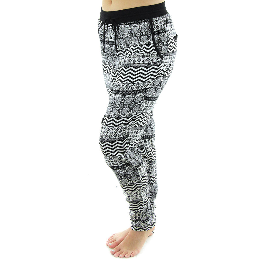 Tequila Women's Pants/Black/White