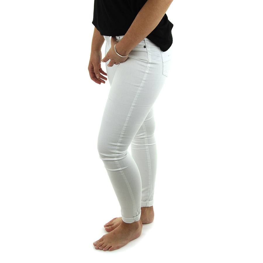Spray On Women's Jeans/White