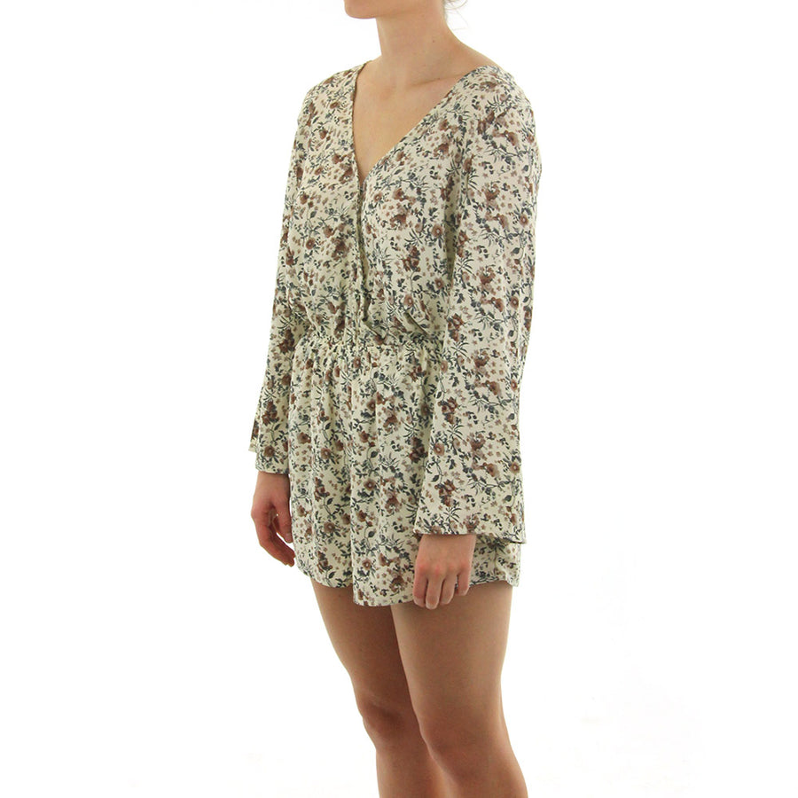 Bonnie Long Sleeve Women's Playsuit