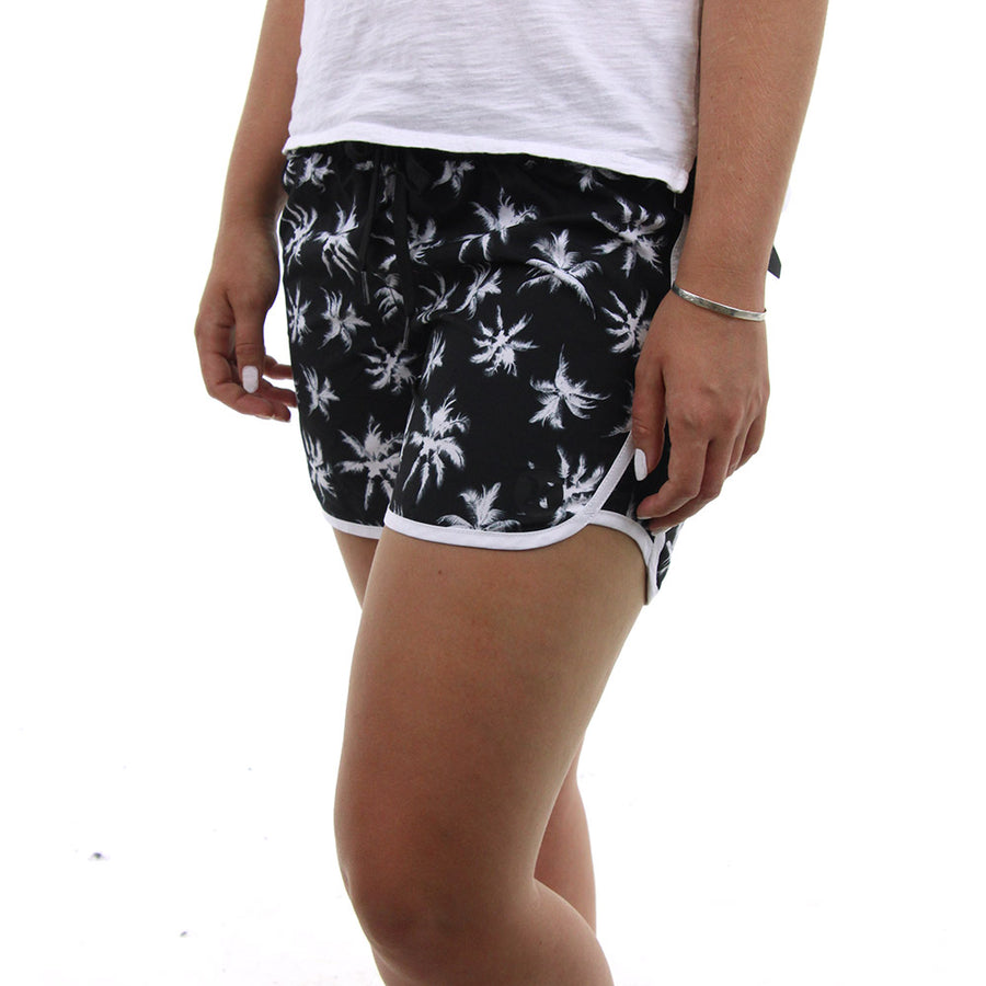 Supersuede 5 Beachrider Women's Boardshorts/Black/White