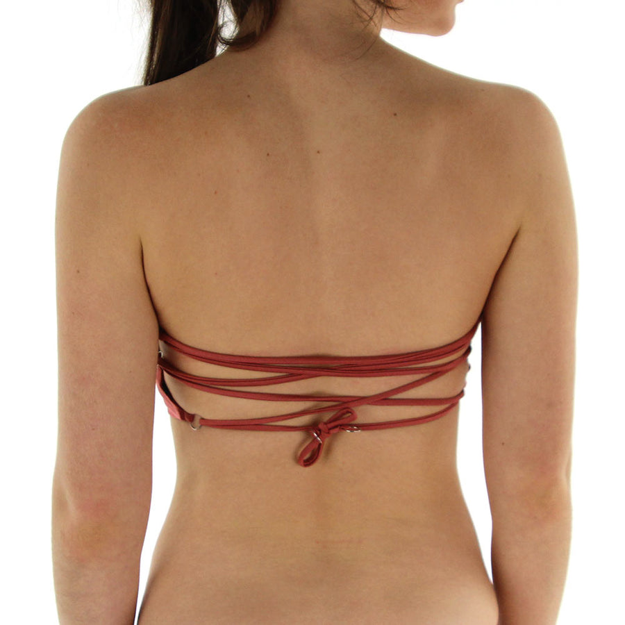 Blaze Tube Top - Terracotta