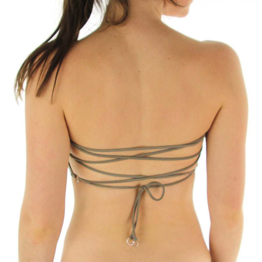 Blaze Tube Top - Gold