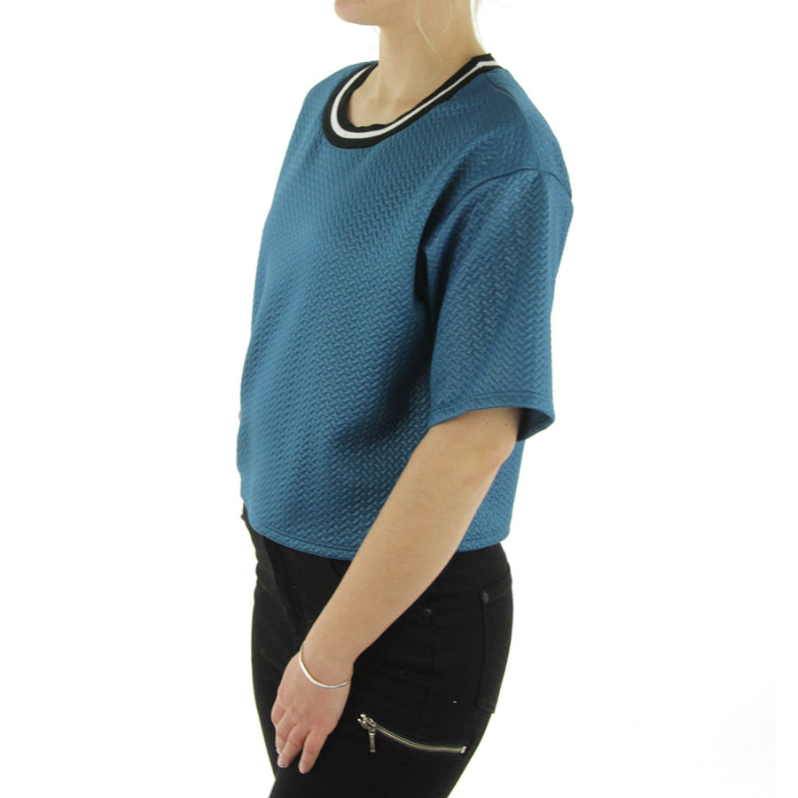 Woven Women's Top/Teal