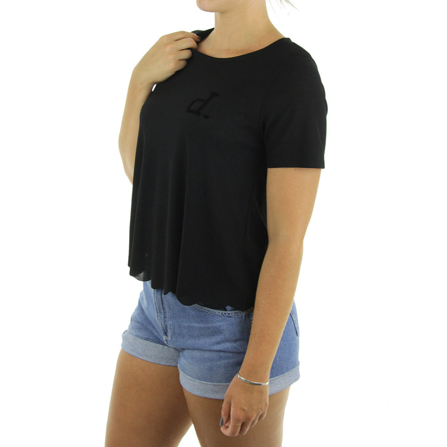 Un Polo Women's Top/Black