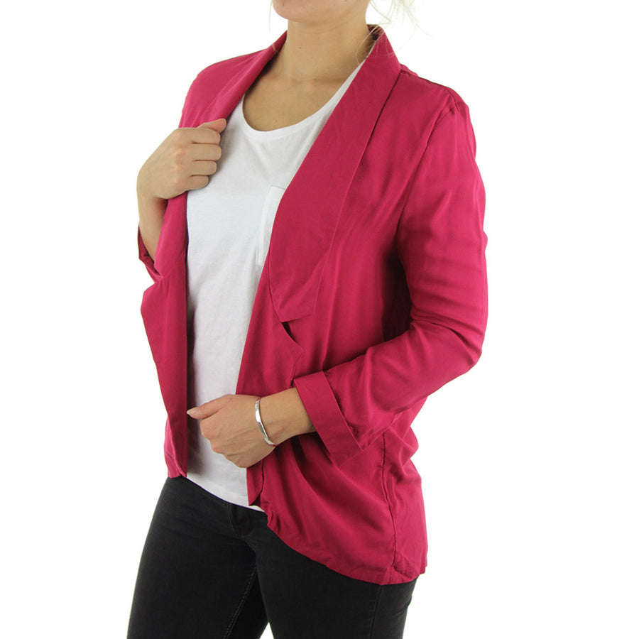 Whirwind Lightweight Blazer Women's Top/Raspberry