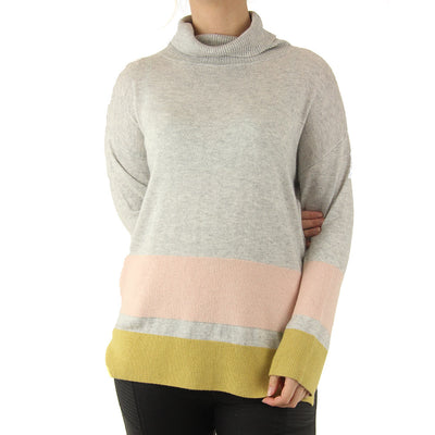 Chill Roll Neck - Grey Marl