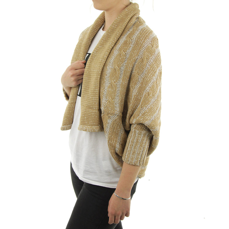 Over The Shoulder Women's Knit/Beige