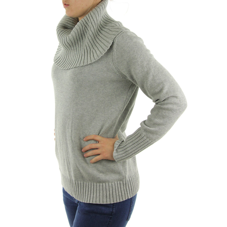Turtle Neck Women's Knit/Heather Grey