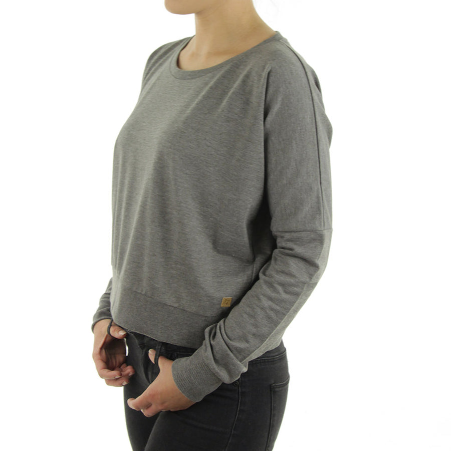 Chapel Women's Sweatshirt/Crew/Dark Gully Grey Heat