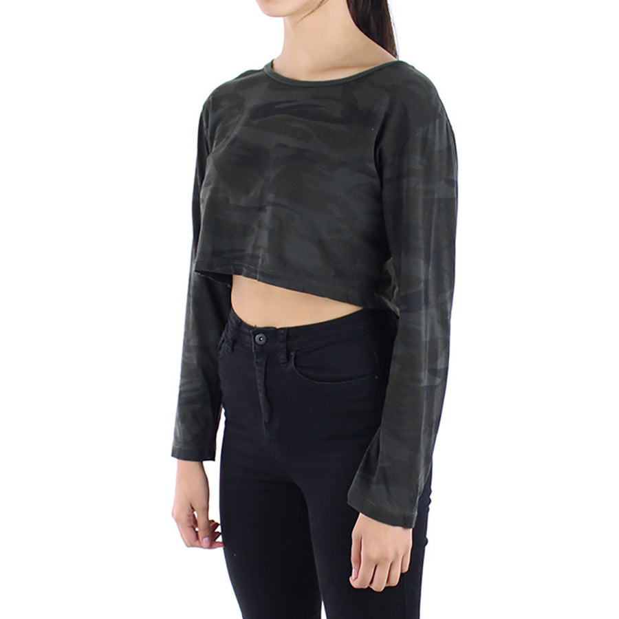 L/S Crop Women's Top