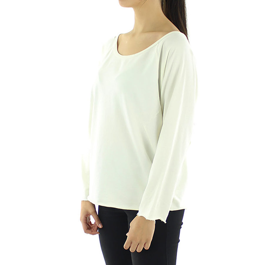 Folded Cuff Women's Sweatshirt/Crew