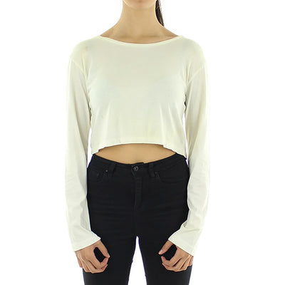 Army L/S Crop Women's Top