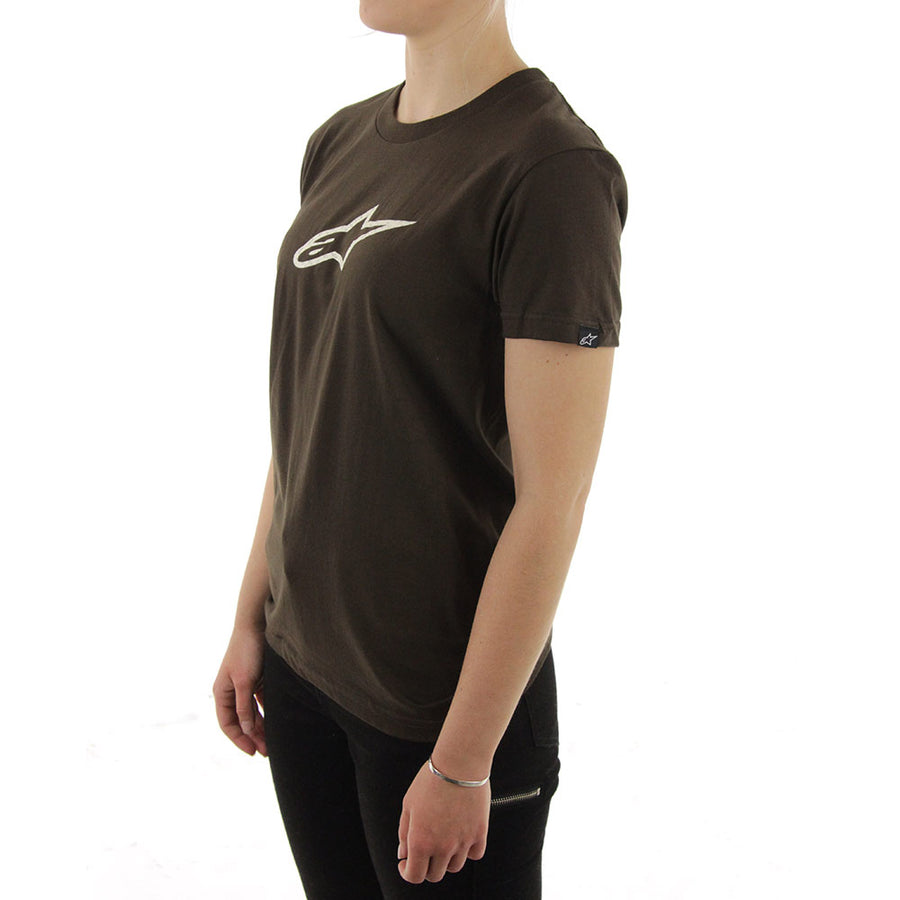 Alpinestars Women's Tee/Brown