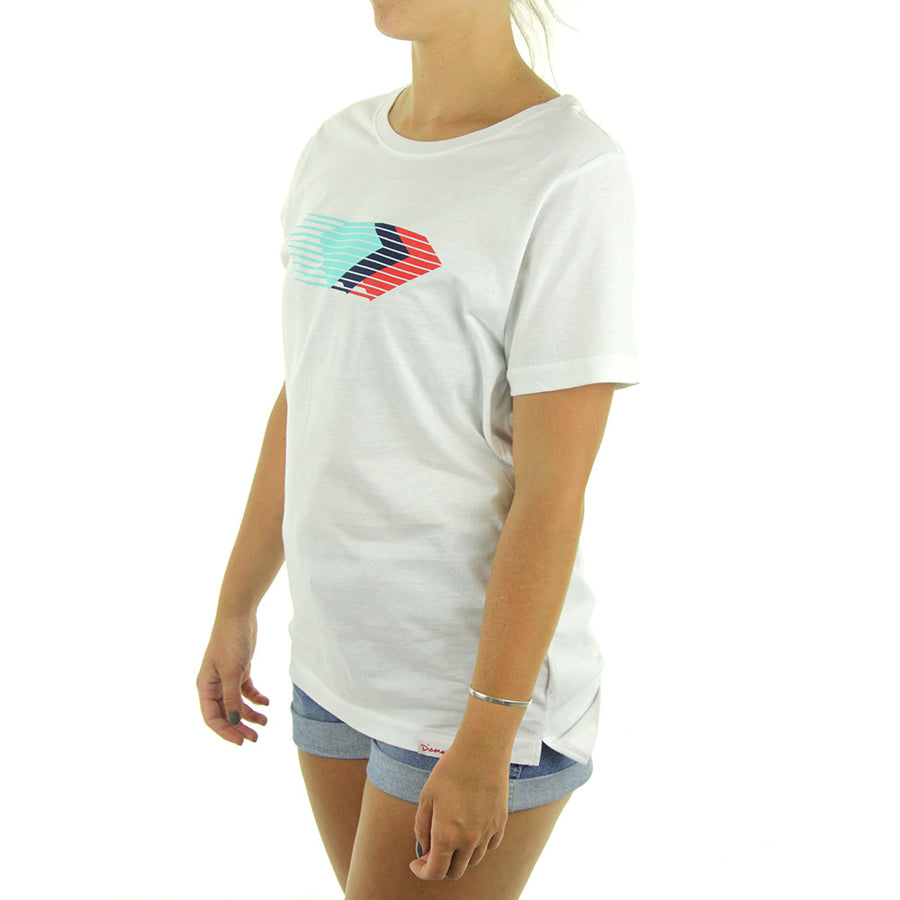 Motion BF Women's Tee/White