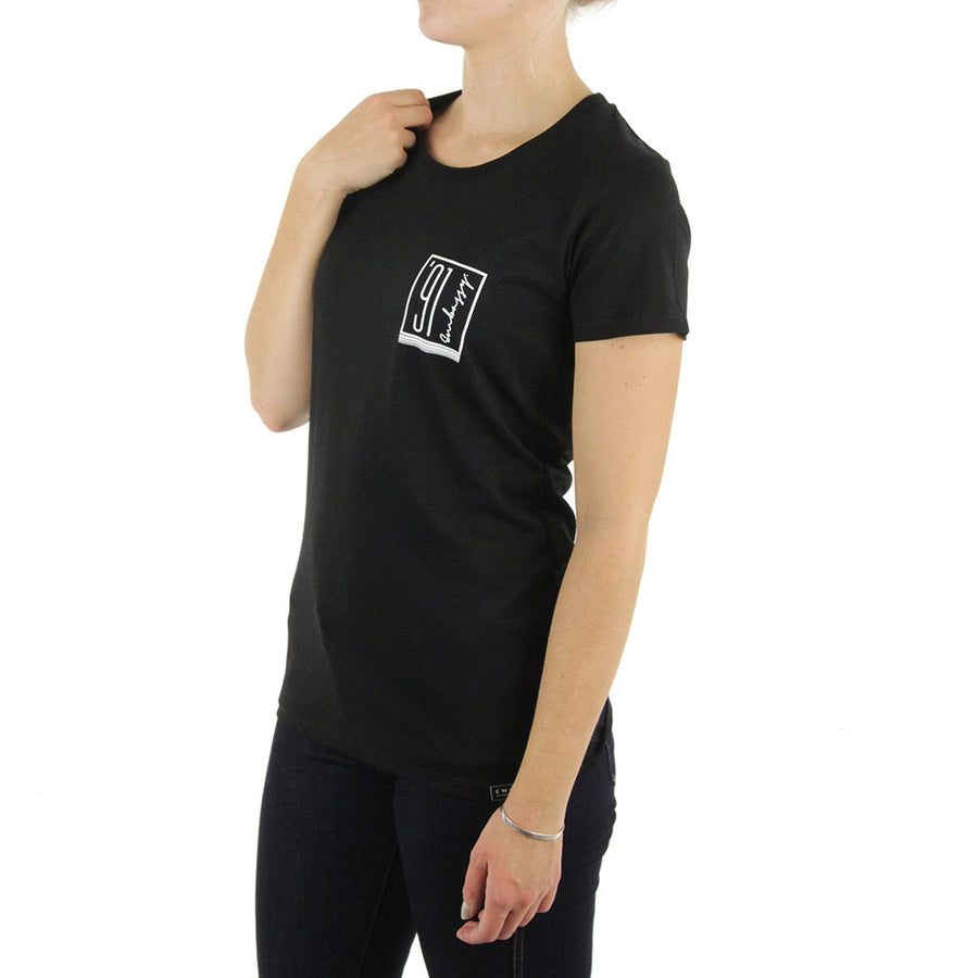 91 Pocket Women's Tee/Black