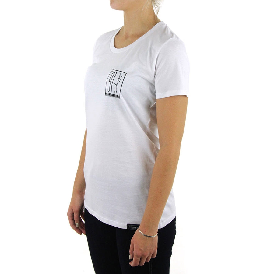 91 Pocket Women's Tee/White