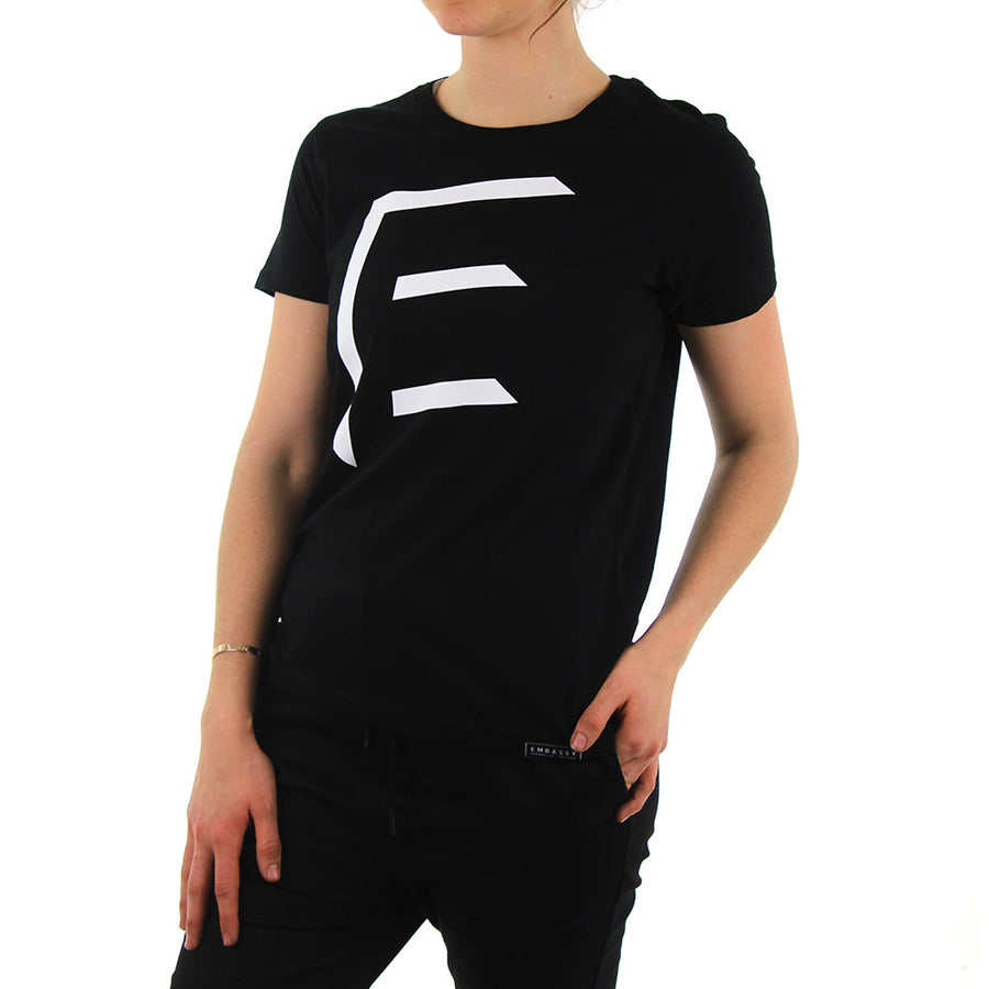 Maple Tee - 3D - Black