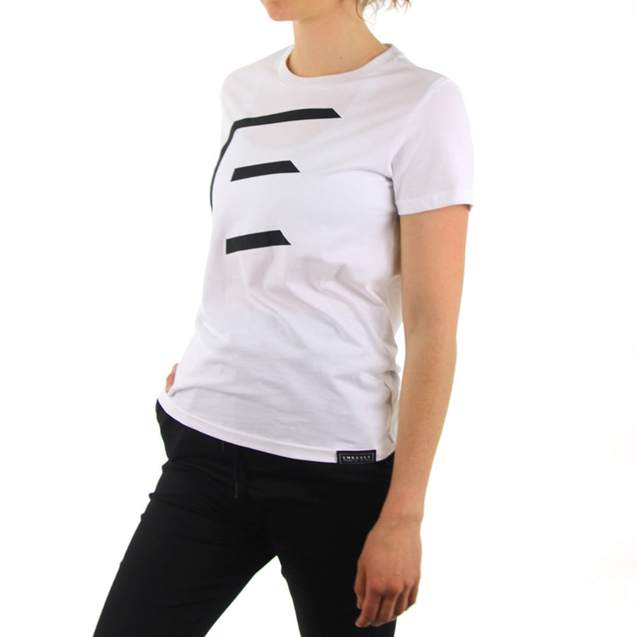 Maple Tee - 3D - White