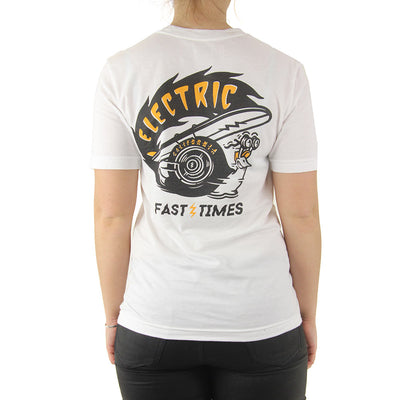Fast Times JR Women's Tee/White