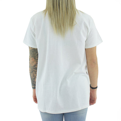 Feel Good Boyfriend Women's Tee/White