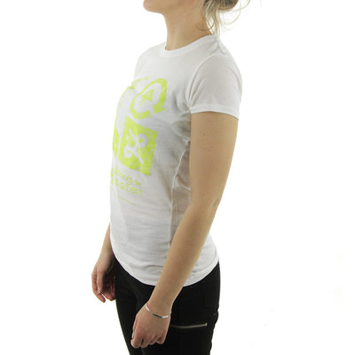 City Lights Icon Slim Fit Women's Tee/White