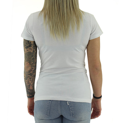 White Lion Women's Tee/White