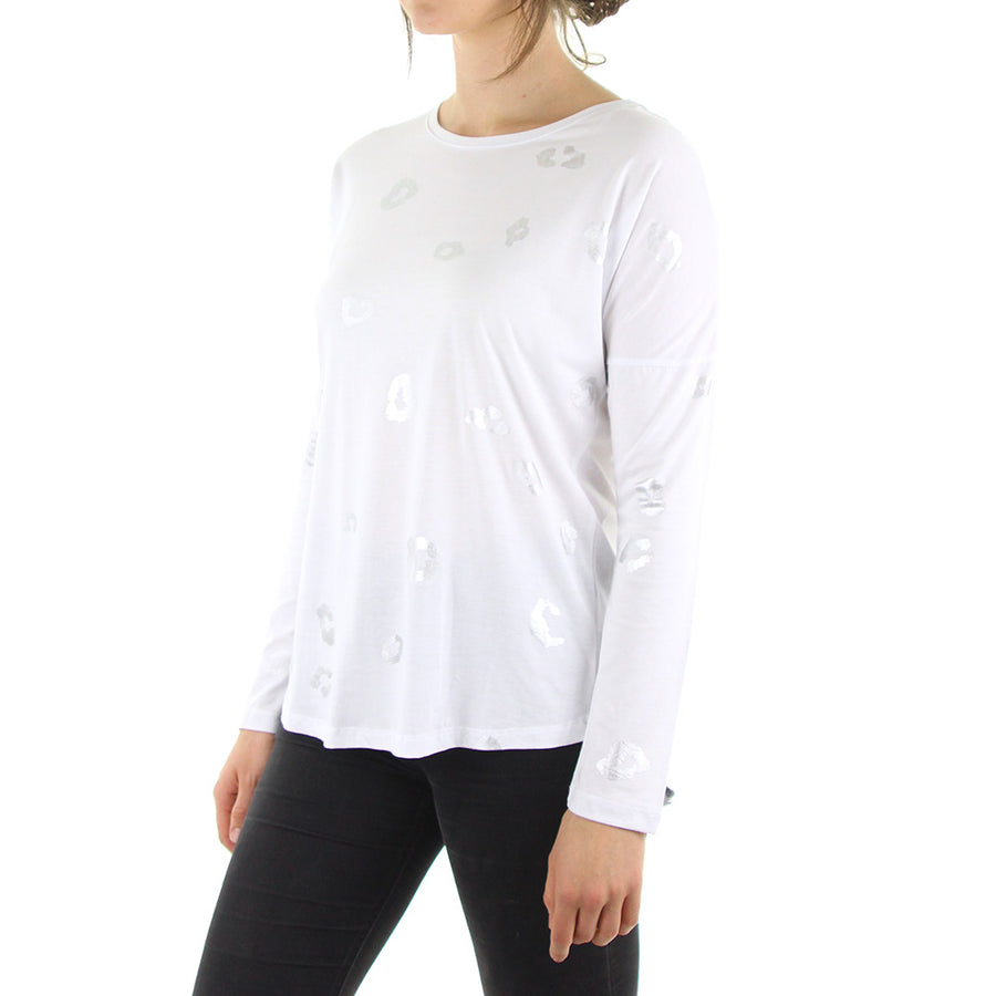 Cougar LS Women's Tee/White