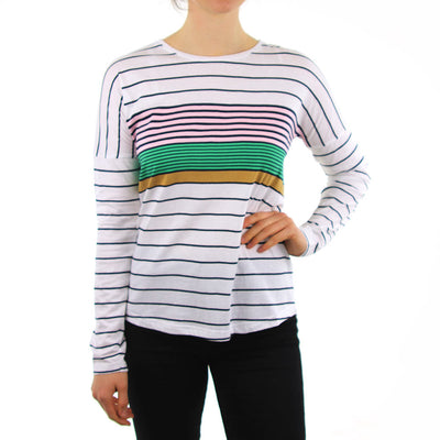 Between The Lines L/S - Multi Stripe
