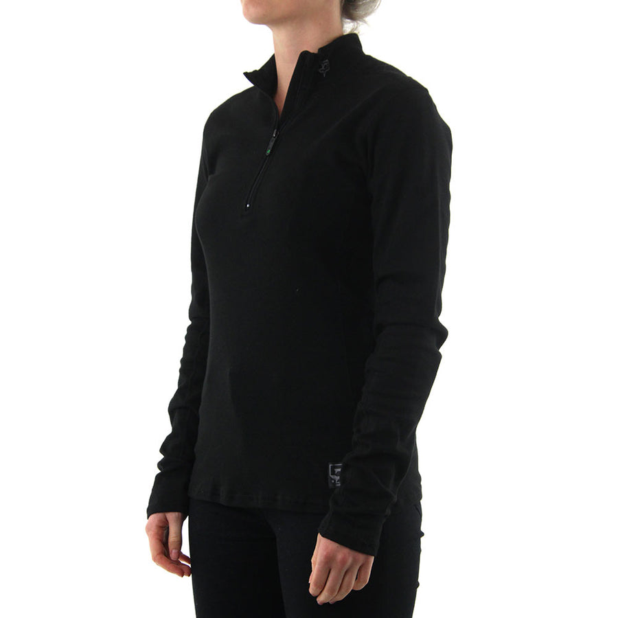 Xtrdry Cotton Zip Moc - Black