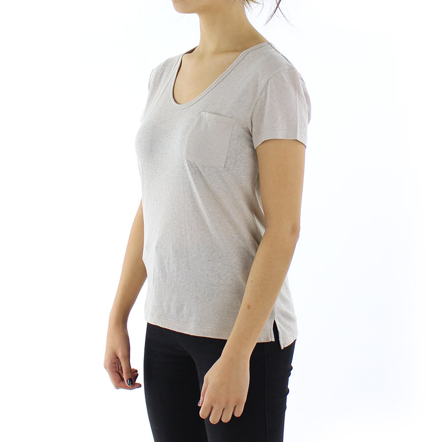 Bare Scoop Neck Women's Tee