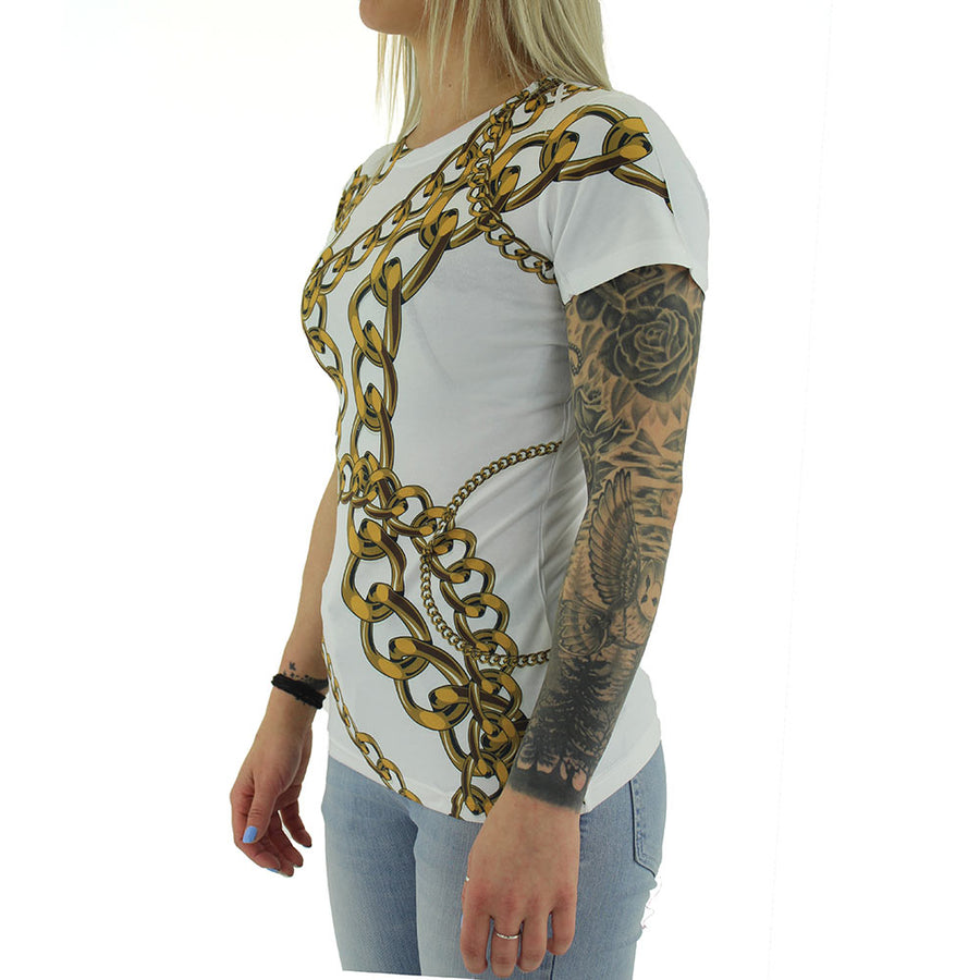Chains Women's Tee/White