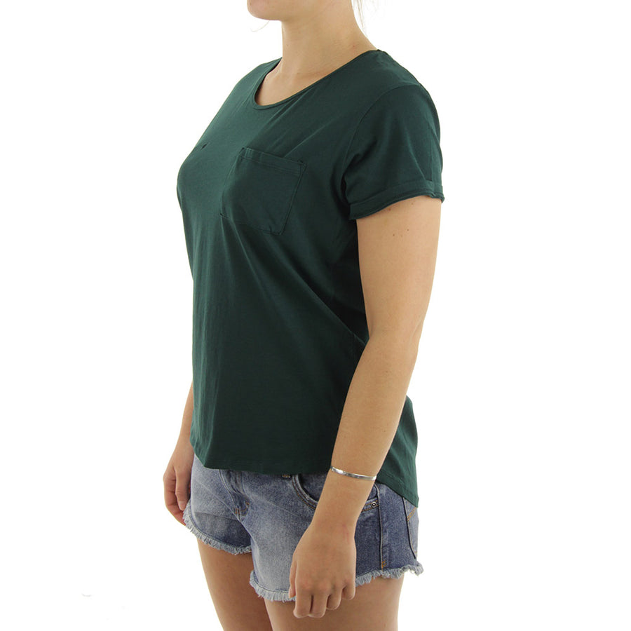 Boyfriend Women's Tee/Evergreen