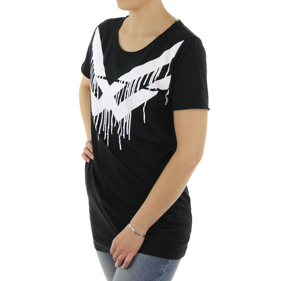 Essential Women's Tee/Washed Black