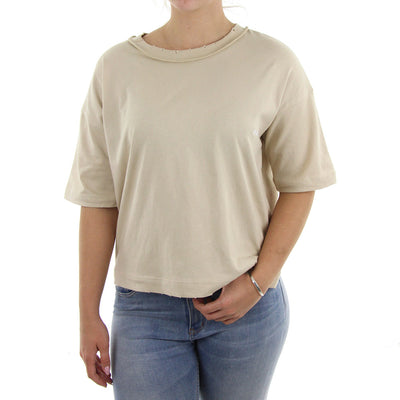 Call Inside Out Women's Tee/Tan