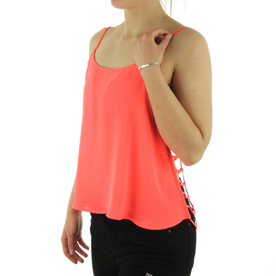 Strappy Back Women's Tank