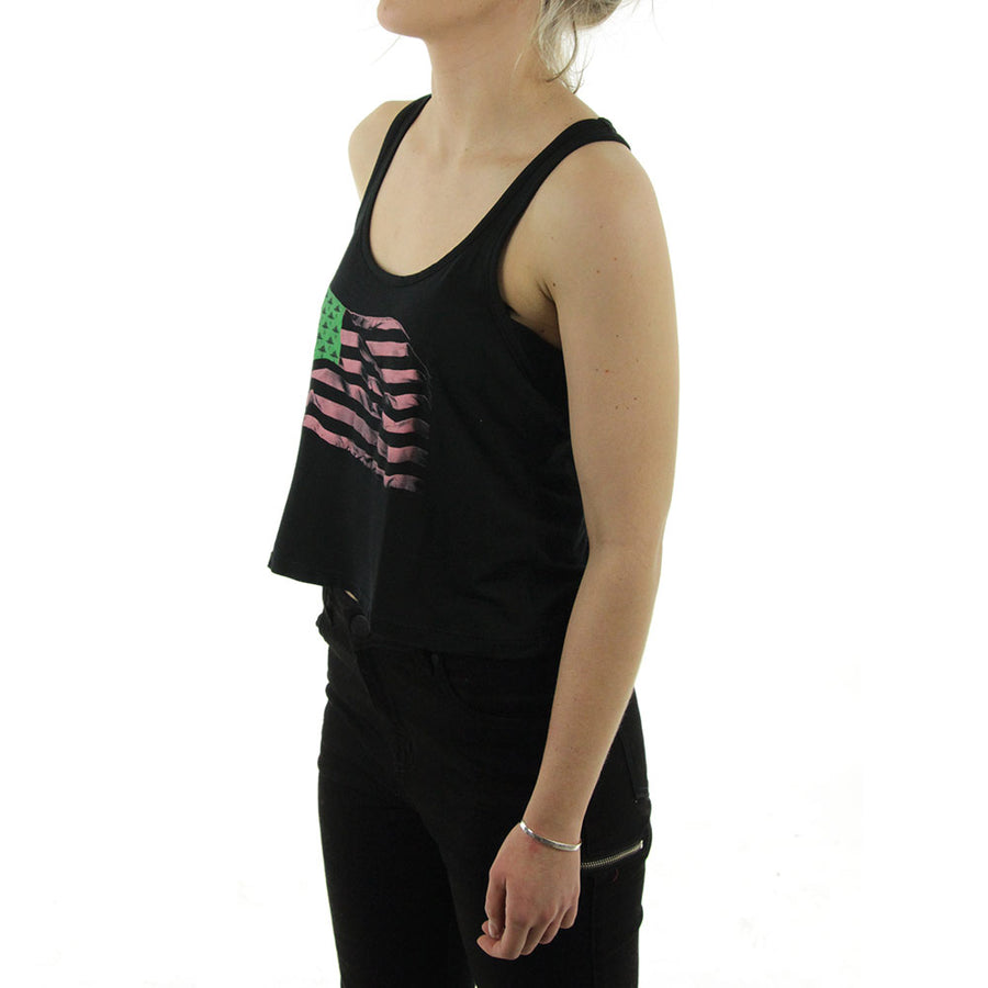 LRG Flag Women's Tank/Black