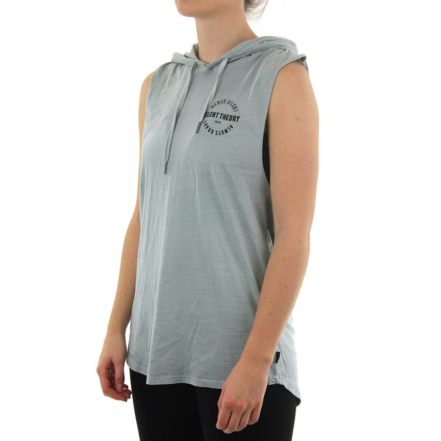 Stray Hooded Muscle Women's Tank