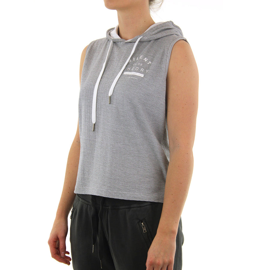 Keeping Hooded Muscle Women's Tank