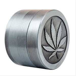 Weed Lovers Shop Grinders 4 Layer 40mm Weed Grinder With Weed Leaf