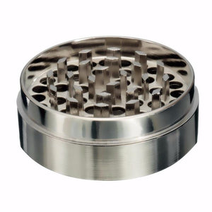 Weed Lovers Shop Grinders 4-layer Aluminum Weed Grinder With Handle Wheel