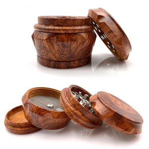 Weed Lovers Shop Grinders 4 Layer Wooden Weed Grinder