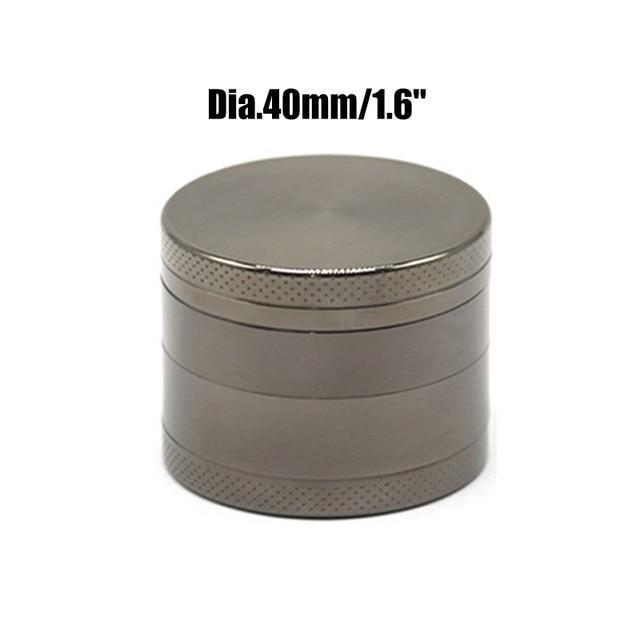 Weed Lovers Shop Grinders China / Gun 40mm 4 Layers Mini Metal Weed Grinder