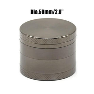 Weed Lovers Shop Grinders China / Gun 50mm 4 Layers Mini Metal Weed Grinder