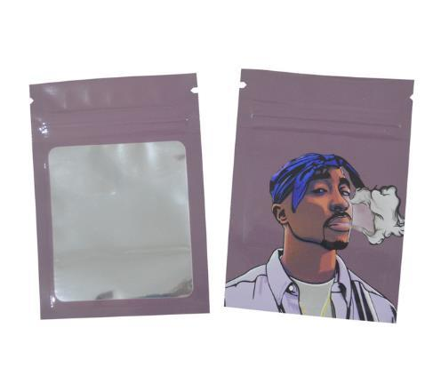 Weed Lovers Shop Safe Tools 20 pcs 12 / as picture 7x10 CM 3.5 Grams Cartoon Weed Bags